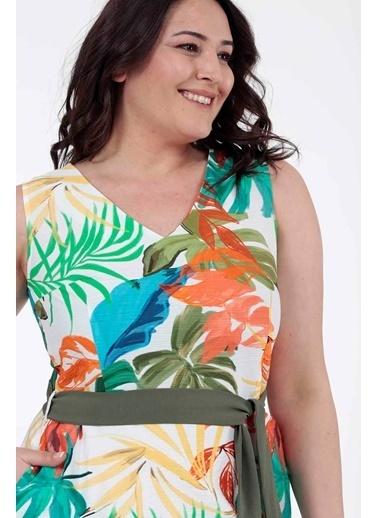 Vitrin XL Elbise Renkli